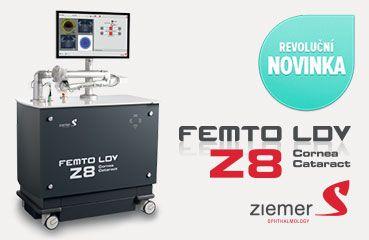 Femtosekundový laser ZIEMER FEMTO LDV Z8