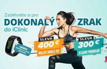 Jarní akce na Relex Smile 3D a Z-Lasik Premium