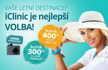 Letní akce na Relex Smile 3D a Z‑Lasik Premium