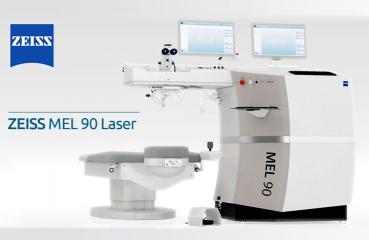 Nejrychlejší excimerový laser na světě ZEISS MEL 90 1050 Hz
