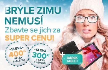 Zimní akce na Relex Smile 3D a Z-Lasik Premium
